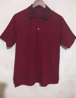 Polo tshirt merah