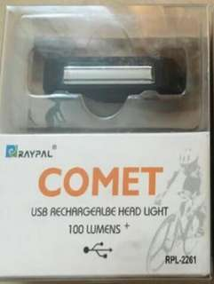 Comet rear and front lights