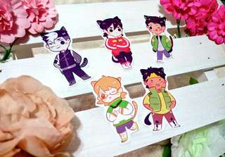 Voltron Kitties Stickers