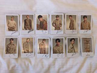 WANNA ONE - CONCERT GOODS (PHOTOCARD)
