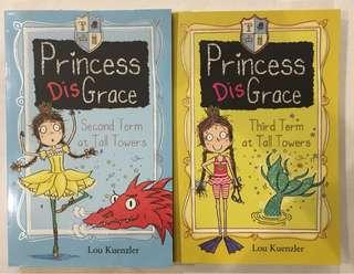 Lou Kuenzler Princess DisGrace Series