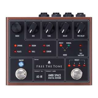 Free The Tone Ambi Space Digital Reverb Pedal