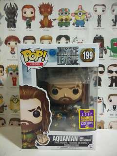Funko Pop Aquaman And Motherbox SCE Exclusive Vinyl Figure Collectible Toy Gift Movie Justice League DC Comic Super Hero