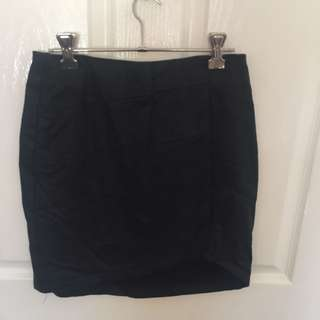 Noughts & Crosses Faux Leather Skirt