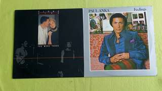 PAUL ANKA ● PLAN 8 (Rare). feeling / live you were there. ( buy 1 get 1 free )  vinyl record