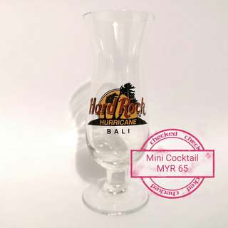 HARD ROCK CAFE mini Cocktail glass