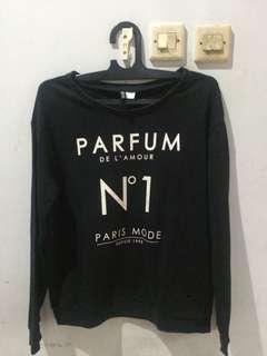 Sweater black H&M