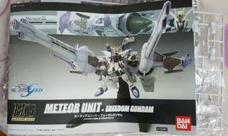 HG Freedom Gundam (spare parts from meteor unit)