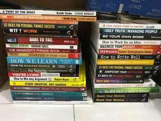 Selft improvement books