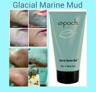 GLACIAL MARINE MUD MANFAAT: 🍀Mengangkat semua kotoran dan sel-sel kulit mati 🍀Sangat bagus mengurangi minyak di kulit wajah berminyak 🍀Mengecilkan pori pori wajah yang besar