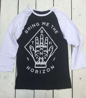 Bring Me The Horizon Baseball Shirt