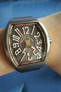 Franck Muller Vanguard Titanium + Gold