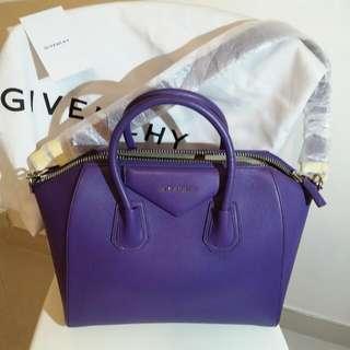 紫色Givenchy全皮手袋