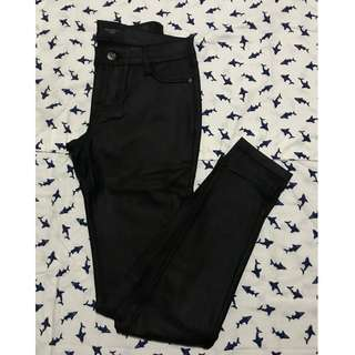 Leather type Pants