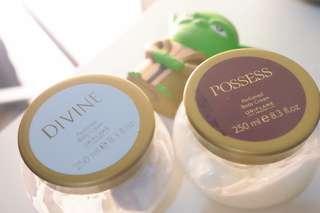 SALEEE!!!! Body cream Divine & Possess