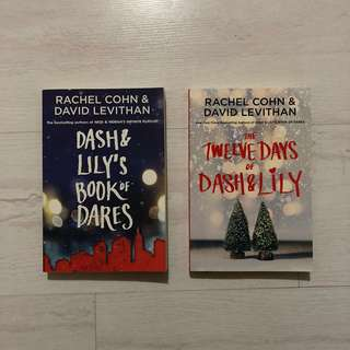 Dash & Lily duology by David Levithan and Rachel Cohn
