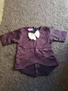 Peplum Baby up to 1 year old (NEW)