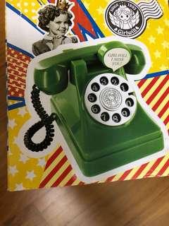 Vintage Telephone piggy bank phone