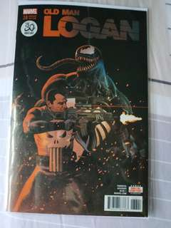 Marvel comics Old man logan 34 venom variant
