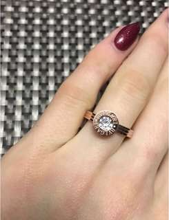 18K gold-plated chic ring!✨