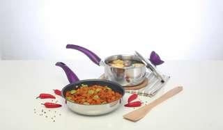 Value kitchen set of basic