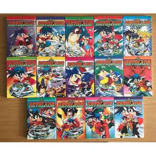 Beyblade Manga Full Set