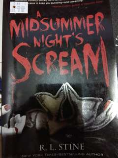 A Midsummer Night's Scream (Horror Novel)
