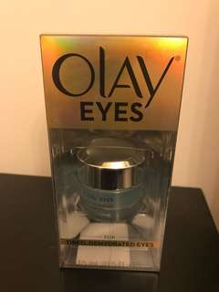 New Olay eye cream