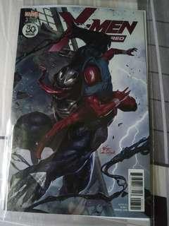 Marvel comics x-men red 3 venom variant