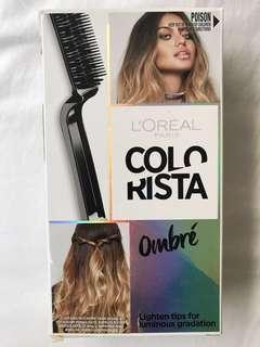 New L'Oréal ombré hair colour