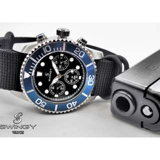 SWINGY Deep Sea Octopus NATO Strap