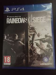 PS4 Tom Clancy's Rainbow Six Siege (New)