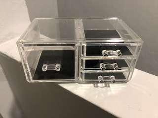 Acrylic Drawer Make Up Organizer (4 designs)