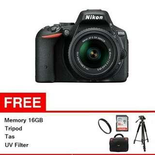 Nikon D5500 Lengkap Bisa Credit Cicilan 6-9Bulan Cukup 3Menit