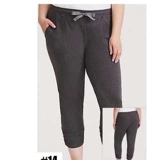BRAND NEW PLUS SIZE TORRID Jogger Pants - size 4X