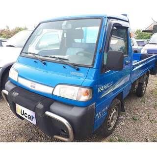 新竹區中古車 2007年 1.2 藍色 VARICA威利貨車 實跑14.6萬公里 鐵斗 賺錢的好幫手