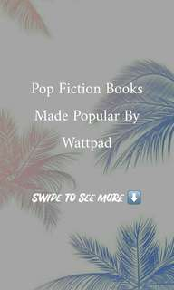 Wattpad Books under Pop Fiction