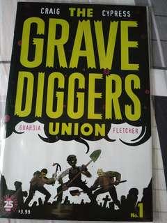 Image comics the grave diggers union 1