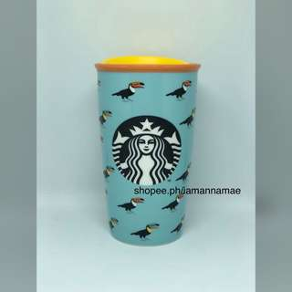 Starbucks Toucan Double Wall Ceramic Mug