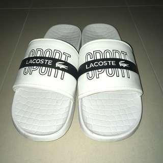 Lacoste White Sandals