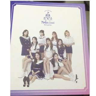 Twice fantasy park photo binder book