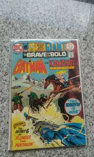 Brave and Bold Giant #120 early bronze age DC comic