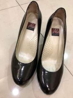 可議- ASO漆皮六公分高跟鞋