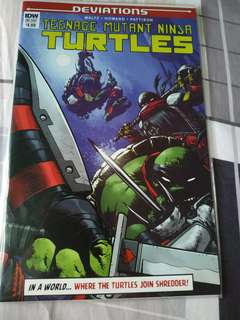 Idw comics teenage mutant ninja turtles (tmnt) deviations