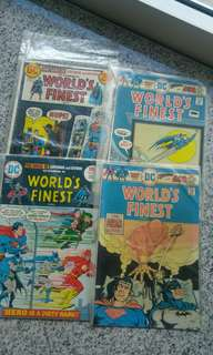 World's finest dc comics bronze age