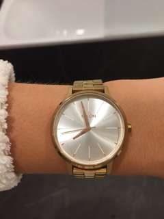 Nixon Rose Gold Womens Watch