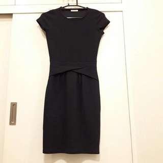 Promod Navy Blue Dress