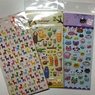 Animal Planner Stickers