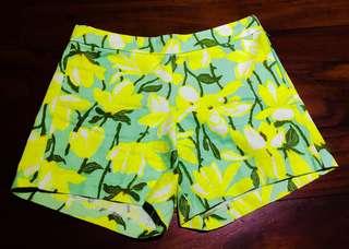 Printed Stretch Chino Shorts