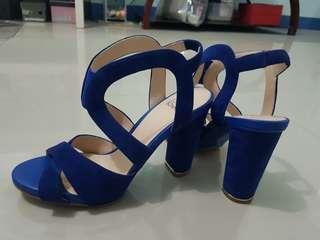 Suede/Gamuza Chunky Heels